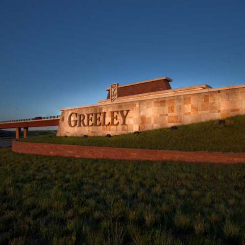 Greeley West Gateway -Monument Sign