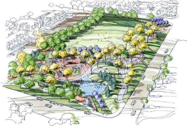 County Lane Park - Rendering